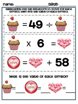 BUNDLE Math Brain Teasers - 8 Mathematical Practice Standards