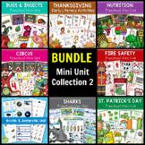 BUNDLE Math & Literacy Mini Unit Collection 2