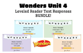 BUNDLE! McGraw-Hill Wonders Leveled Readers DIGITAL Text Responses-UNIT4-GRADE 5
