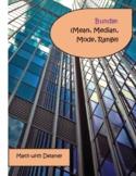 BUNDLE:  Mean, Mode, Median, Range Unit