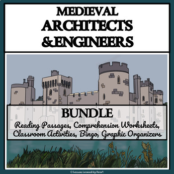 BUNDLE: Medieval Architects and Engineers; Castles and Cathedrals