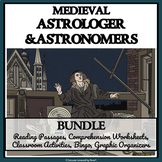 MEDIEVAL ASTROLOGERS AND ASTRONOMERS - Reading Comprehension, Activities, Bingo
