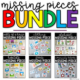 BUNDLE Missing Pieces Task Box   Task Boxes for Special Education