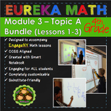 BUNDLE Module 3 Topic A Eureka Math 4th Grade Smartboard Lessons 1-3