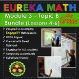 BUNDLE Module 3 Topic B Eureka Math 4th Grade Smartboard L