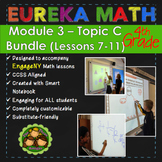 BUNDLE Module 3 Topic C Eureka Math 4th Grade Smartboard L