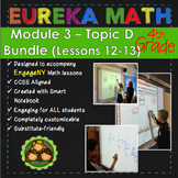 BUNDLE Module 3 Topic D Eureka Math 4th Grade Smartboard L
