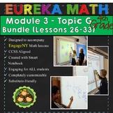 BUNDLE Module 3 Topic G Eureka Math 4th Grade Smartboard Lessons 26-33