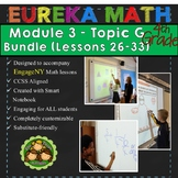BUNDLE Module 3 Topic G Eureka Math 4th Grade Smartboard L