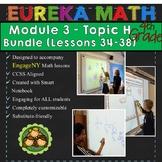 BUNDLE Module 3 Topic H Eureka Math 4th Grade Smartboard L