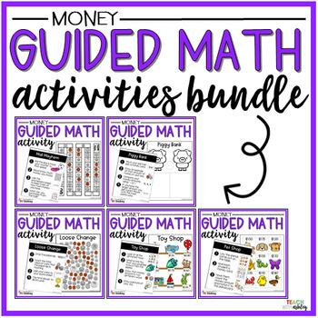 BUNDLE Money Guided Math Activities