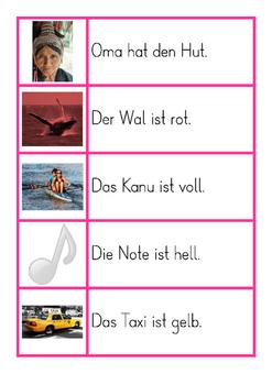 BUNDLE: Montessori German / Deutsch Pinke Serie