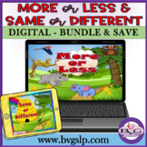 BUNDLE - More or Less & Same or Different