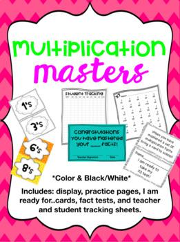 BUNDLE- Multiplication Fact Practice