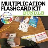 Multiplication Facts Fluency Flashcards Practice: Bundle