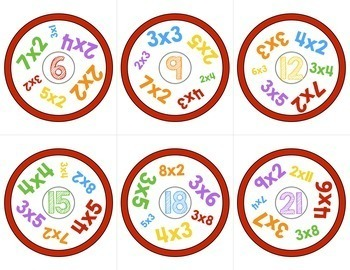 Multiplication and Division Math Games BUNDLE