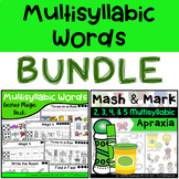 BUNDLE: Multisyllabic Words Pack