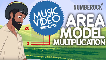 Area Model Multiplication: 2-Digit x 2-Digit Multiplication Video & Activities