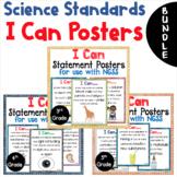 BUNDLE Science I Can Statements Grades 3- 5