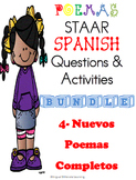 BUNDLE NO PREP NEEDED!  Four NEW Spanish Poems for the pri