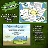 BUNDLE!  Natural Cycles: Carbon-Oxygen, Nitrogen, and Water Cycles
