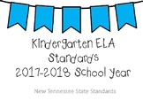 BUNDLE - New Tennessee Math and ELA Standards for Kindergarten