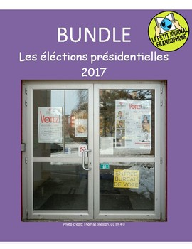 BUNDLE: News Summaries in French covering the 2017 French presidential elections