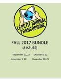 BUNDLE: News summaries for French students; FALL 2017
