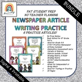 BUNDLE   Newspaper Writing PAT Practice   Alberta Curriculum