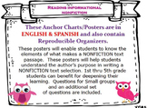 BUNDLE Nonfiction English & Spanish Posters & Organizers