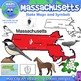 BUNDLE: Northeast Region State Symbols and Map Clipart