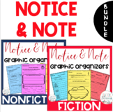 Notice and Note NONFICTION and FICTION Signposts BUNDLE