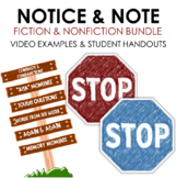 BUNDLE Notice and Note Introductions: Fiction and Nonfiction