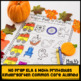 KINDERGARTEN BUNDLE: November Comprehension, Phonics & Math Work