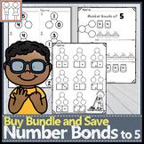 BUNDLE: Number Bonds to 5