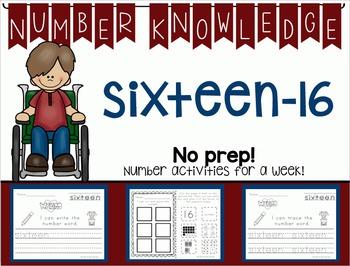 *BUNDLE* Number Knowledge: Numbers 11-20 NO PREP!)