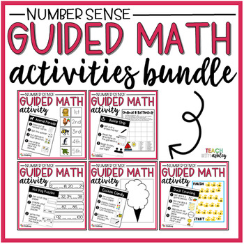 BUNDLE Number Sense Guided Math Activities