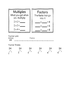 BUNDLE: Number Theory Cut-Out Notes
