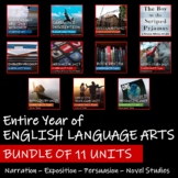 BUNDLE OF 11 UNITS - Saskatchewan English Language Arts 7