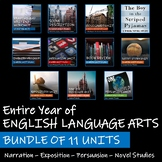 BUNDLE OF 11 UNITS - Saskatchewan English Language Arts 8