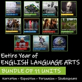 BUNDLE OF 11 UNITS - Saskatchewan English Language Arts 9