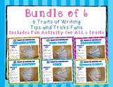BUNDLE OF ALL TRAITS 6 Traits of Writing Rubric Fan- Reference Tool