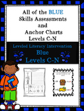 BUNDLE OF ALL of the Blue LLI Skills Assessments and Anchor Charts 1st Edition