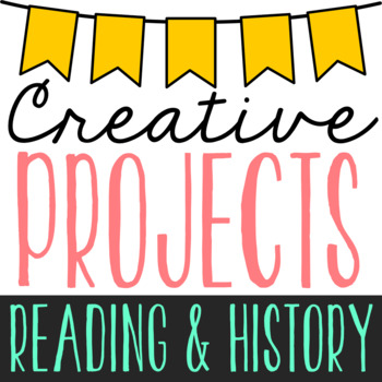 BUNDLE OF CREATIVE RESEARCH PROJECTS: Geography, Biography, Novel