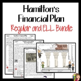 HAMILTON'S FINANCIAL PLAN and WHISKEY REBELLION Doodle Notes