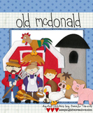 BUNDLE: Old McDonald's Farm Clip Art