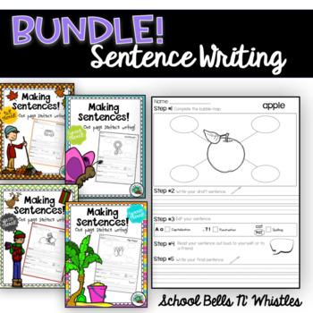 BUNDLE-One Page Sentence Writing