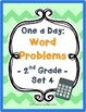 {BUNDLE} One a Day: Word Problems for 2nd Grade (ALL 4 SETS)