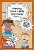 Inferring & Predicting BUNDLE PACK ~ 144 QUICK WRITE TASK CARDS