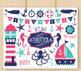 CLIPART BUNDLE - Nautica (girl) / Nautical / Sailing